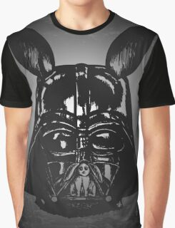 Dark Bunny Side Graphic T-Shirt