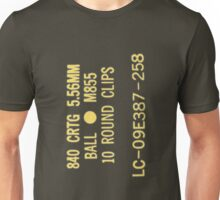 5.56x45mm M855 ammo can Unisex T-Shirt
