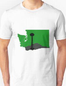 Ode to Washington State, Mt. Rainier T-Shirt