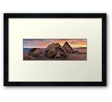 Remarkable Rocks Sunset, Kangaroo Island, South Australia Framed Print