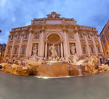 Trevi Fountain by Sam Tabone