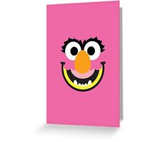 "Muppets ""Animal"" Greeting Card"