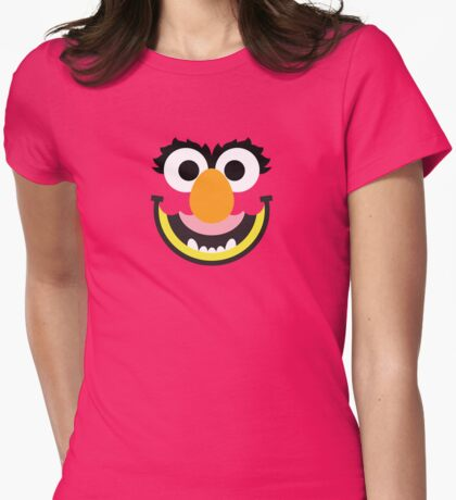 """Muppets """"Animal"""" Womens Fitted T-Shirt"""