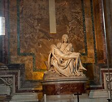 Pieta by MichaelAngelo by Sam Tabone