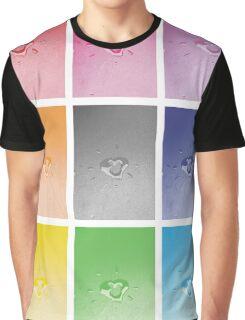 Wet heart - rainbow dash Graphic T-Shirt