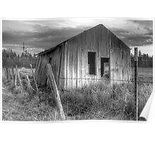 Shack on the Fence Line II Poster