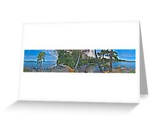 East Sooke Park (360 Panorama HDR) Greeting Card