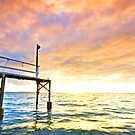The Forgotten Jetty - Cleveland Qld Australia by Beth  Wode