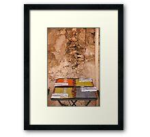 Table for four Framed Print