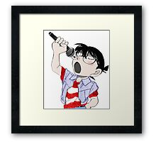 Detective Conan: Sing With Me Framed Print