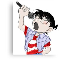 Detective Conan: Sing With Me Canvas Print