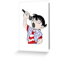 Detective Conan: Sing With Me Greeting Card