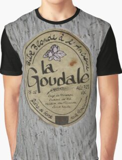 LA GOUDALE. Graphic T-Shirt