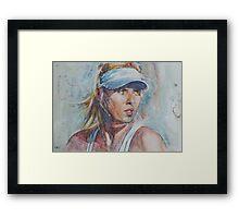 Maria Sharapova -1 Framed Print