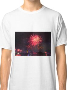 Fireworks in Brisbane Classic T-Shirt
