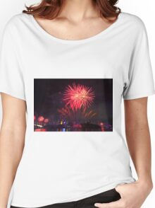 Fireworks in Brisbane Women's Relaxed Fit T-Shirt