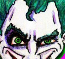 Joker's Wild Sticker
