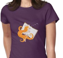 Kazart - Phoebe 'Good Book' Tshirt Womens Fitted T-Shirt