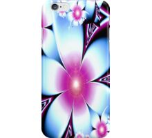 Pretty in Pink and Blue iPhone Case/Skin
