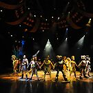 A Scene From The Lion King Show. Disneyland, Hong Kong. by Ralph de Zilva