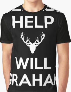 Please Help Will Graham Graphic T-Shirt