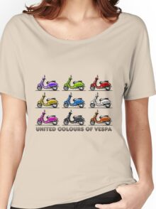 United Colours of Vespa Women's Relaxed Fit T-Shirt