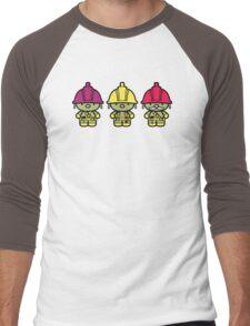 Chibi-Fi Doozers Men's Baseball ¾ T-Shirt