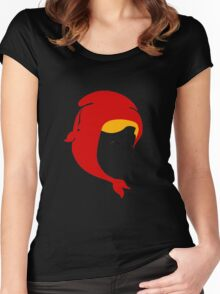 Little Red Women's Fitted Scoop T-Shirt