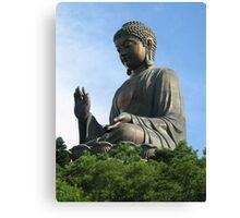 Po Lin Buddha Canvas Print