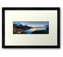 Hazards Sunset Framed Print