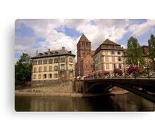 Strasbourg Bridge Canvas Print