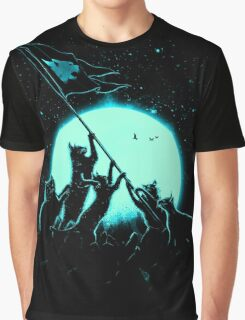 Freedom Cats Graphic T-Shirt