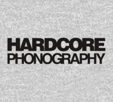 Hardcore Phonography (Black) by BiggStankDogg