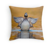 Rise of the Scaup Throw Pillow
