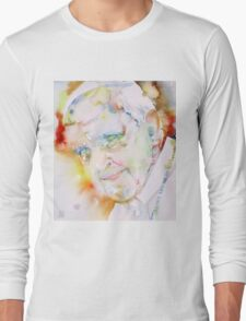 POPE FRANCIS - watercolor portrait.6 Long Sleeve T-Shirt