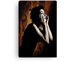 Anguish Canvas Print