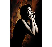 Anguish Photographic Print