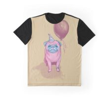 Party pug Graphic T-Shirt
