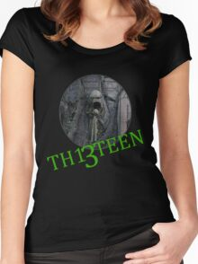 Th13teen - Alton towers Women's Fitted Scoop T-Shirt