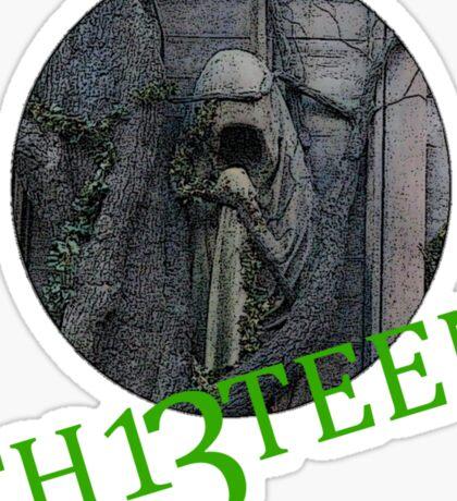 Th13teen - Alton towers Sticker