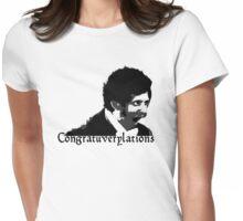 Congratuverylations! Womens Fitted T-Shirt