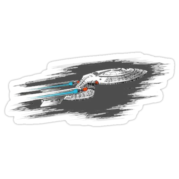 Boldly Going Where No T-Shirt Has Gone Before by himynameischris
