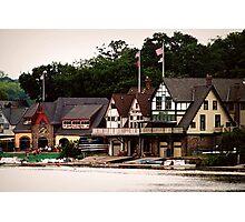 Boat House Row-Phila PA Photographic Print