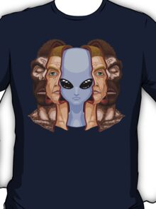 Three Faces T-Shirt