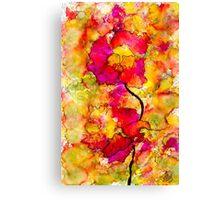 Floral Duet Canvas Print
