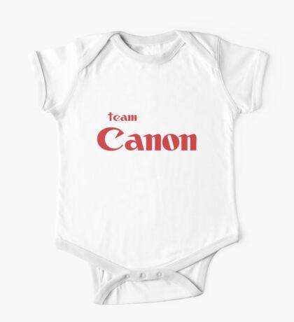 Team Canon!  One Piece - Short Sleeve