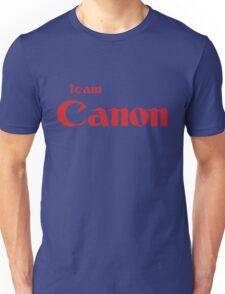 Team Canon!  Unisex T-Shirt