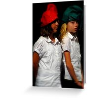 The Two Elves Greeting Card