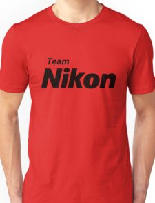 Team Nikon! Unisex T-Shirt