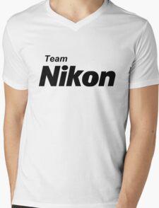 Team Nikon! Mens V-Neck T-Shirt
